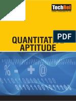 Quantitive APTITUDE