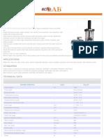 Datasheet HTM 1200 W