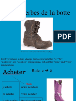 boot and shoe verbs
