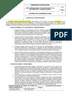Acuerdo de Confidencialidad Servidores Pùblicos MINEDUC ZONA