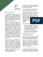 La Fao Et l'Adaptation Au Cc