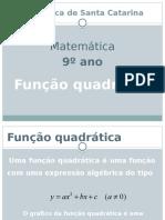 Docslide.com.Br Escola Basica de Santa Catarina Matematica 9o Ano Funcao Quadratica