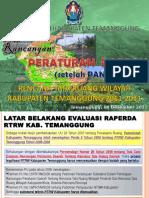 Presentasi Ka Bapp Ttg Raperda Rtrw Kab Temanggung Net