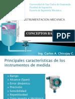 Conceptos Básicos Instrumentación 2015