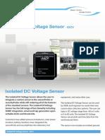 IDCV Isolated DC Voltage Sensor