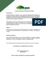 Norma Técnicadel Seguro RT Gacetas N17y28