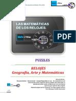Relojes y Matemáticas Puzzles