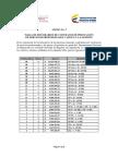 Tabla de Honorarios 2015-2