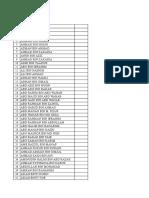 Senarai Nama Khairat Kg Tok Panjang