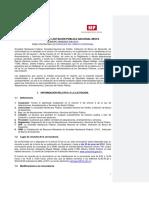 Bases para concursar en licitaciones Licitaciones SIF para 2013