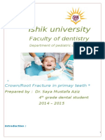 Crown and Root Fracture in Primaery Teeth-26