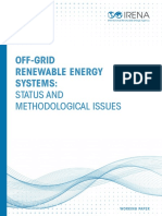 IRENA Off-grid Renewable Systems WP 2015