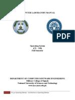 CS 330 Operating Systems - Lab Manual