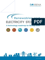 IRENA REmap Electricity Storage 2015