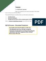 IELTS Task 1 Process