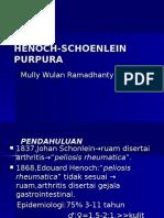 Henoch-schoenlein Purpura Powerpoin