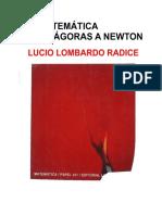 La Matematica de Pitagoras a Newton - Lucio Lombardo