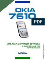 Nokia 7610 SettingWizard