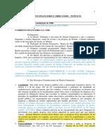 Ponto 01 - Finanças Públicas Na Constituição