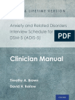 [Timothy a. Brown, David H. Barlow]  Anxiety and Related Disorders Interview Schedule for DSM-5