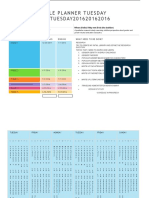 project schedule planner 2015