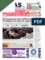 Mijas Semanal Nº667 Del 31 de diciembre de 2015 al 7 de enero de 2016