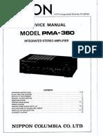Denon PMA360 Amp