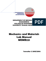 Memb221 Lab Manual Sem 2 2015 2016 - Updated 19 Oct 2015