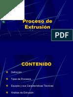 Proceso de Extrusión