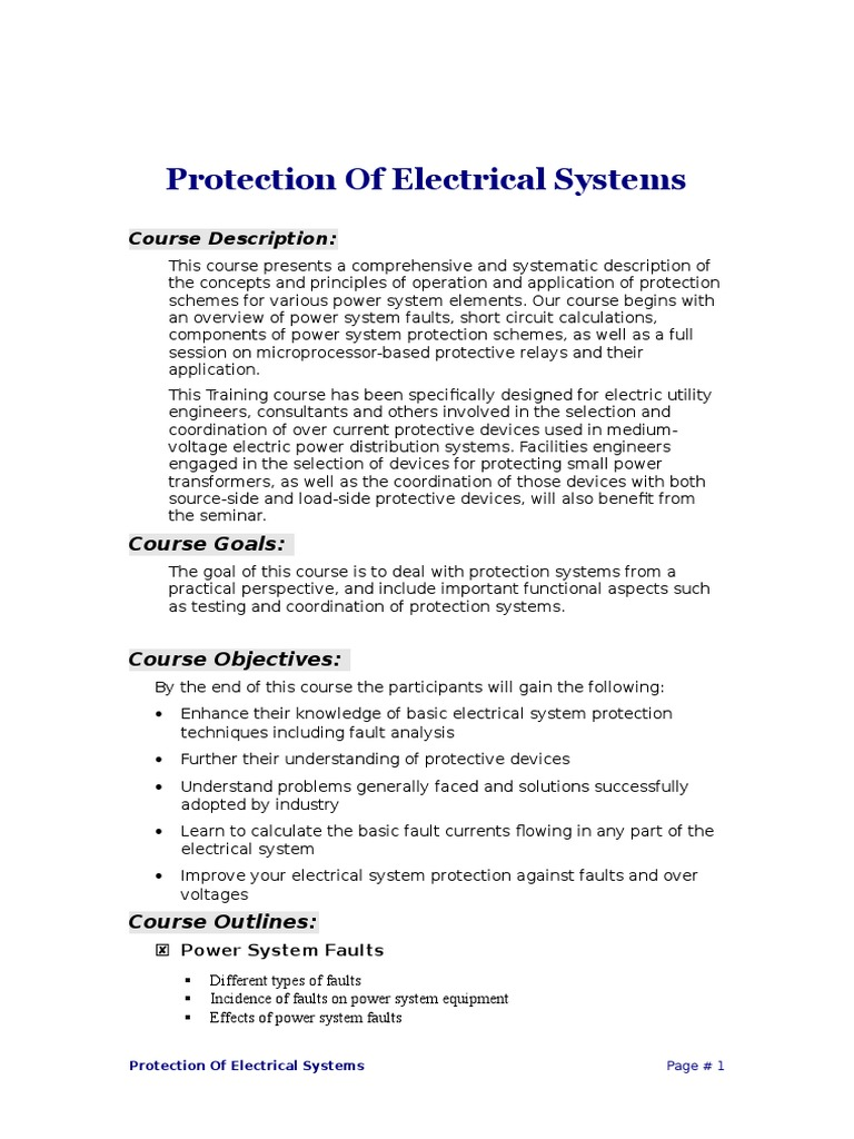 Funky Types Of Electrical System Image Collection - Best Images for ...