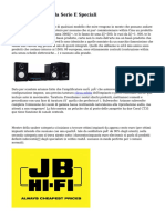 Impianti Audio Pada Serie E Speciali