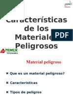 Pemex-caracteristicas de Los Materiales Peligrosos1[1] (1)