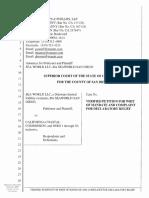 SeaWorld Entertainment Lawsuit v CA Coastal Commission