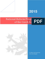 National Reform Programme in Czech Republic