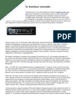 Fiat Primero Info Per Installare Autoradio