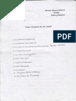 French Form 5 Pour l'Examen de Mi Annee