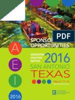 2016 AEI Sponsorship