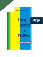 Datas Cívicas e Festivas