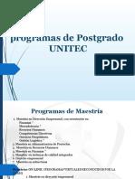 Presentación de Maestrías ENERO 2016