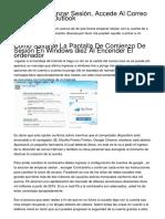 <h1>Hotmail Comenzar Sesión, Accede Al Correo A Través De Outlook</h1>