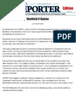 UCO Reporter, Special NEWS Bulletin, Sheffield - O Update, November 20, 2015