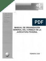 Estructura Poder Judicial de La Federacion