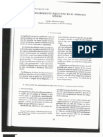El procedimiento ejecutivo en el Derecho Minero (1era. parte)