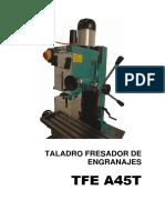 Manual Tfe a45t