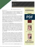 Conflictividad en El Aula Violencia Contra El Profesor BULLYING ACOSO ESCOLAR