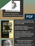 Presentación_Visita Archivo ODHAG