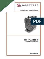 EGB-1P and EGB-2P Governor_Actuator