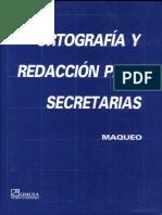 Ortografia y redaccion para secretarias