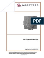 Gas Engine Governing