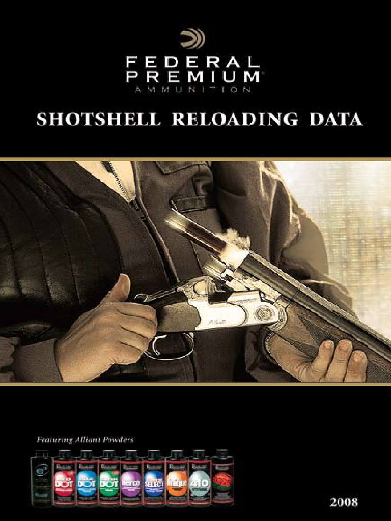 Shotshell Reloading Data | Firearms | Projectile Weapons